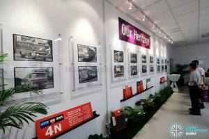 Our Bus Showcase at the Seletar Bus Depot Carnival - Photos of Buses & Destination Signages
