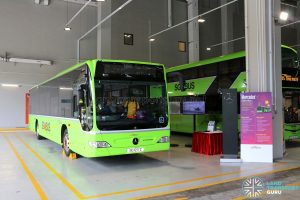SBS Transit Mercedes Benz O530 Citaro (SG1217Z) - On Display at Seletar Bus Depot Carnival