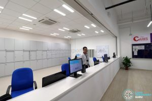 Seletar Bus Depot - SBS Transit Dispatch Counter