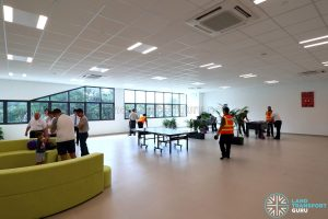 Recreation Room at the Seletar Bus Depot