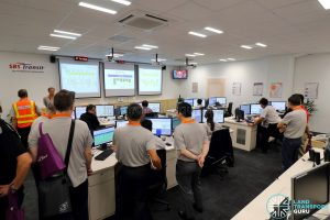 Bus Operations Control Centre - Seletar Bus Depot