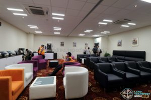 Seletar Bus Depot - Drivers' Lounge