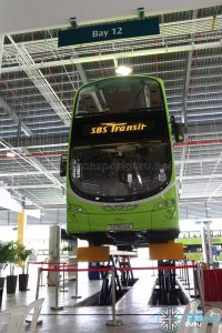 Seletar Bus Depot - Vehicle Lifting System