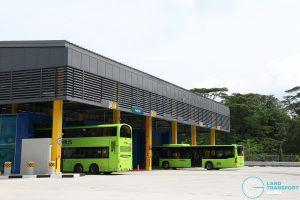 Seletar Bus Depot - Bus Wash