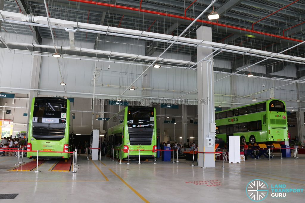 Seletar Bus Depot Carnival - Static Bus Displays