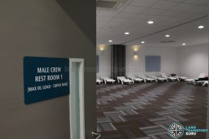Seletar Bus Depot - Male Crew Rest Room 1