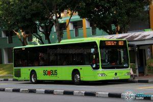 Service 803 - SMRT Buses Mercedes-Benz O530 Citaro (SG1117D)