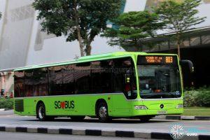 Service 803 - SMRT Buses Mercedes-Benz O530 Citaro (SG1122M)