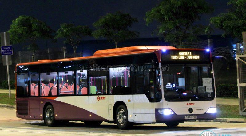 SMRT Mercedes-Benz Citaro (SG1222H) - Shuttle 3