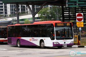 Service 811: SBS Transit Mercedes-Benz O530 Citaro (SG1244U)