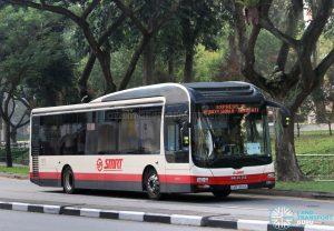 Express 15: SMRT MAN NL323F (SMB1384X)