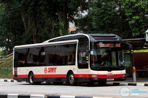 Bus 184 - SMRT Buses MAN A22 (SMB205L)