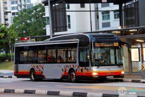 Service 805 - SBS Transit MAN A22 (SMB3100K)