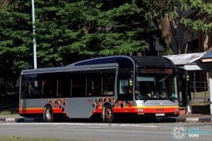 Service 811A - SBS Transit MAN A22 (SMB3124S)