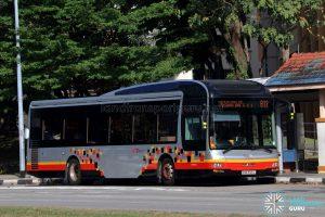 Service 811 - SBS Transit MAN A22 (SMB3126L)