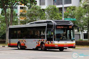 Service 812 - SBS Transit MAN A22 (SMB3129D)