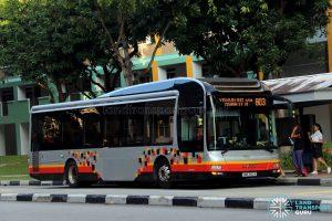 Service 803 - SMRT Buses MAN A22 (SMB3152K)