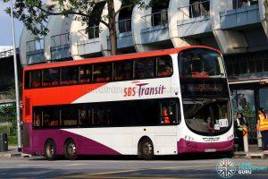 Shuttle 6 - SBS Transit Volvo B9TL Wright (SBS3285B)