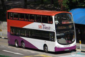 Service 161 - SBS Transit Volvo B9TL Wright (SBS3717Y)