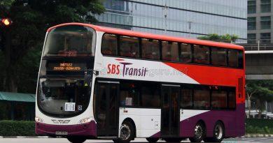 Shuttle 2 - SBS Transit Volvo B9TL Wright (SBS3936G)