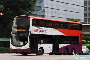 Shuttle 2 - SBS Transit Volvo B9TL Wright (SBS3953G)
