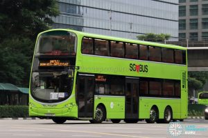 Shuttle 1 - Tower Transit Volvo B9TL Wright (SG5006P)