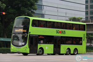 Shuttle 1 - Tower Transit Volvo B9TL Wright (SG5020Y)