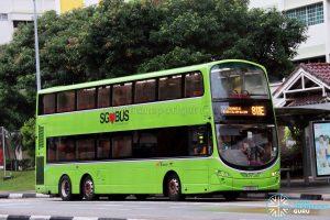 Service 811E - SBS Transit Volvo B9TL Wright (SG5044D)