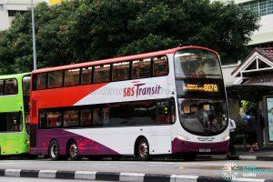 Service 807A - SBS Transit Volvo B9TL Wright (SG5087E)