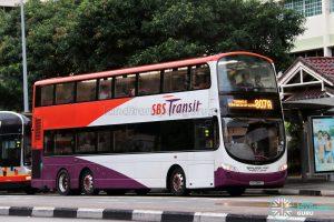 Service 807A - SBS Transit Volvo B9TL Wright (SG5088C)