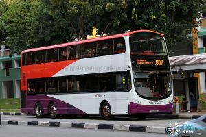 Service 807 - SBS Transit Volvo B9TL Wright (SG5089A)
