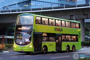 Shuttle 1 - Go-Ahead Volvo B9TL Wright (SG5118A)