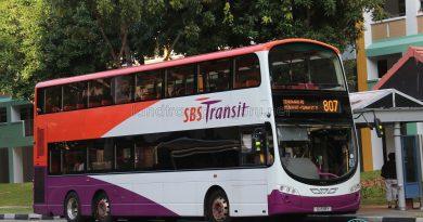Service 807 - SBS Transit Volvo B9TL Wright (SG5119Y)
