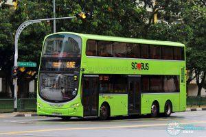 Service 811E - SBS Transit Volvo B9TL Wright (SG5124G)