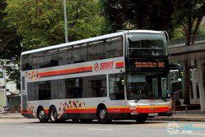 Service 961 - SMRT Buses MAN A95 (SMB5901C)