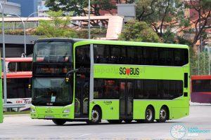 Service 12 - Go-Ahead Singapore MAN A95 (SG5915R)