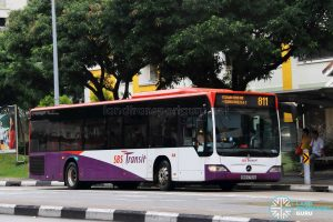 Service 811 - SBS Transit Mercedes-Benz O530 Citaro (SBS6752A)