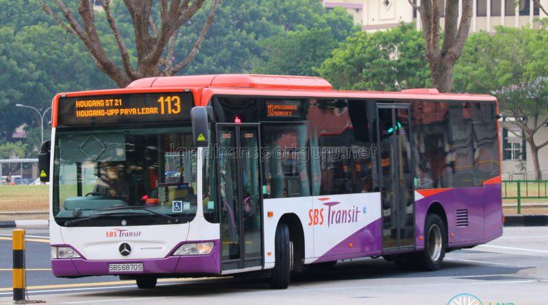 Service 113 - SBS Transit Mercedes-Benz O530 Citaro (SBS6870S)
