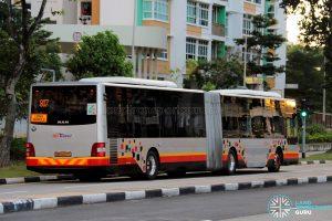 Service 807 - SBS Transit MAN A24 (SMB8002C) Rear