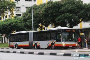 Service 811E - SBS Transit MAN A24 (SMB8009J)