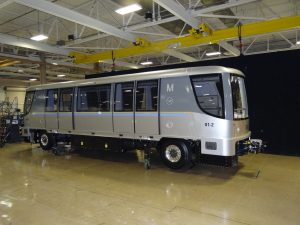 Bombardier Innovia APM300 for Madrid