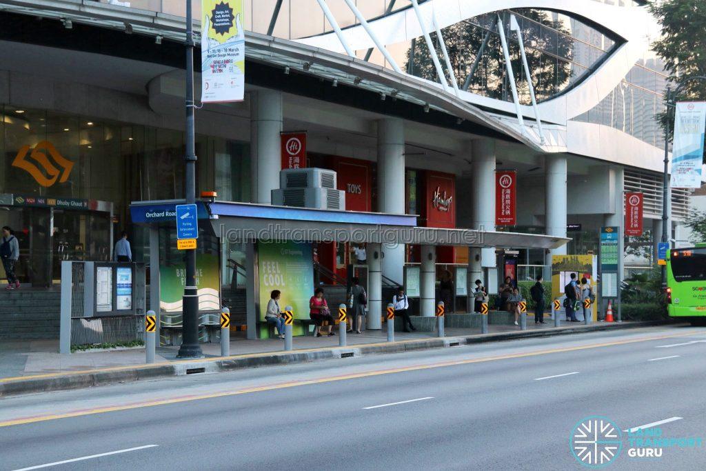 Airbitat Oasis Smart Bus Stop along Orchard Road