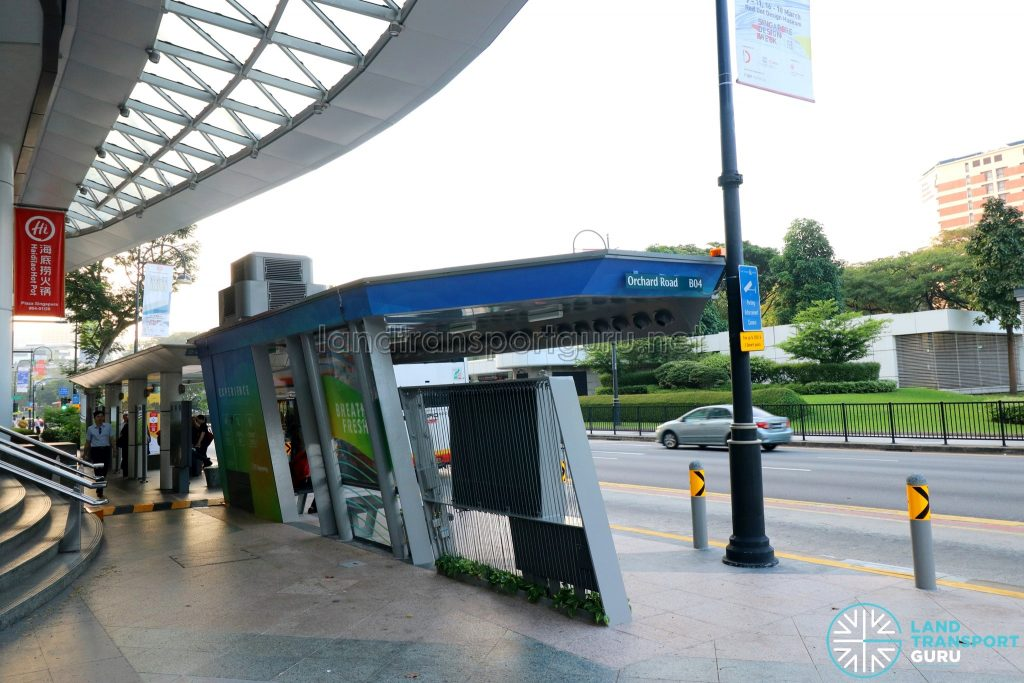Airbitat Oasis Smart Bus Stop (View from Behind)
