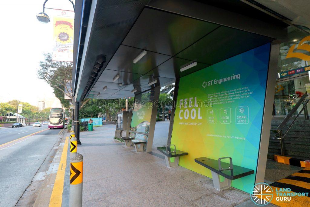 Airbitat Oasis Smart Bus Stop (Seats)