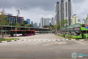Kampong Bahru Bus Terminal - Bus Parking Lots