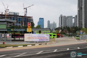 Kampong Bahru Bus Terminal - Entrance from Spooner Road