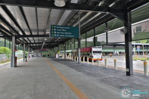 Kampong Bahru Bus Terminal - Alighting Berth
