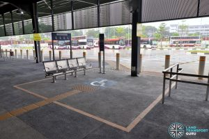 Kampong Bahru Bus Terminal - Priority Seating at Berth B2