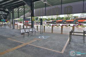 Kampong Bahru Bus Terminal - Priority Seating at Berth B1