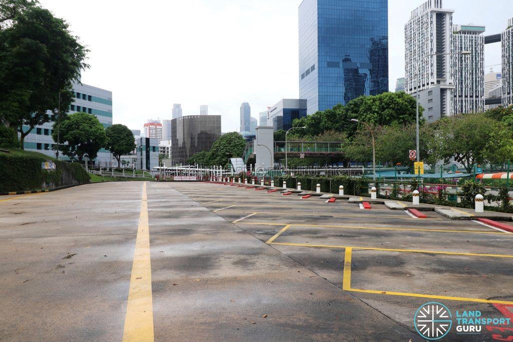 New Bridge Road Bus Terminal - Bus Parking Lots